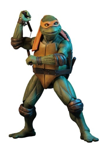 Teenage Mutant Ninja Turtles Michelangelo 1/4 Scale Figure
