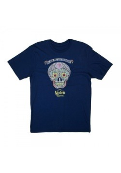 Modelo Threadpixel Dia De Los Muertos Men's T-Shirt