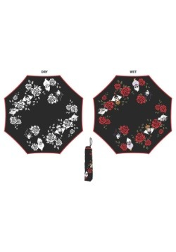 Liquid Reactive Disney Villains Roses Umbrella