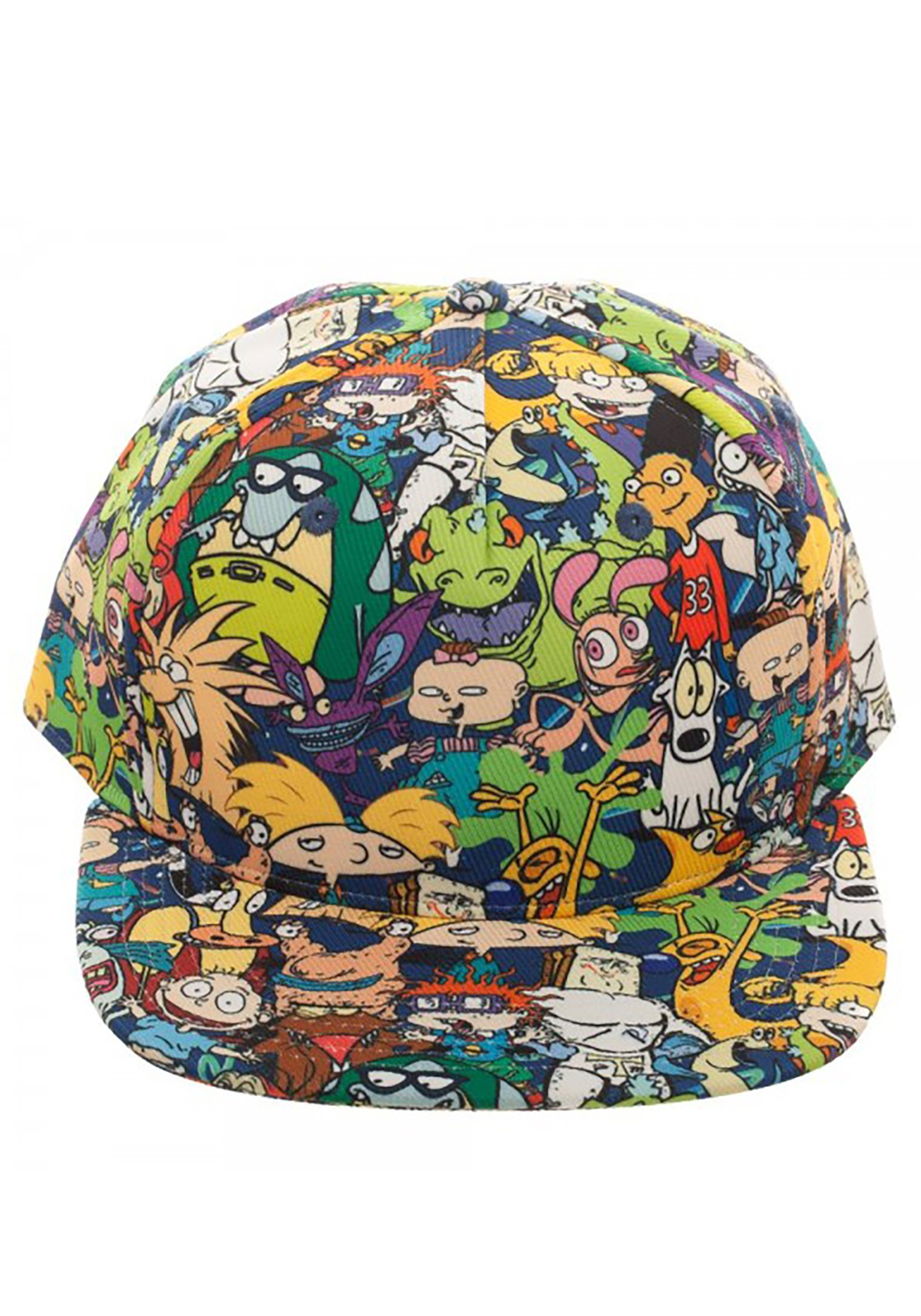brand new 166f1 30289 Nick Rewind All-Over Sublimated Print Snapback Hat