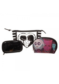 Nightmare Before Christmas Jack/ Sally Jrs. Cosmetic 3 Piece