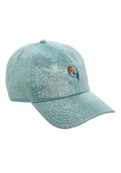 My Little Pony Rainbow Dash Glitter Fabric Dad Hat