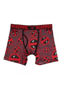 Mens Marvel Deadpool Icon Boxer Brief