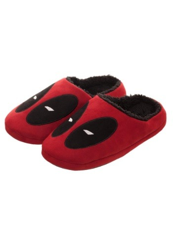 Marvel Deadpool Red Scuff Adult Slippers