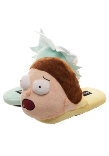 3D Scuff Slippers Rick and Morty Besties1