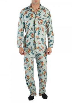 Batman '66 Surf's Up All Over Print Men's Pajama Set