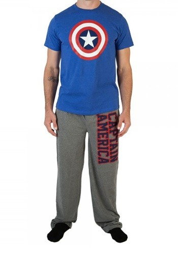 Marvel Captain America Men's Sleep Set