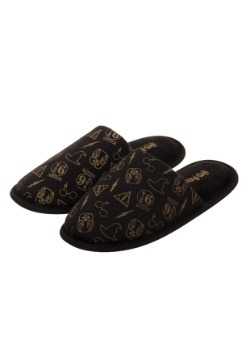 Adult Harry Potter All-Over Print Scuff Slippers