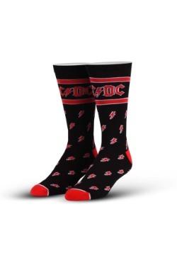 Cool Socks AC/DC Bolts Adult Socks