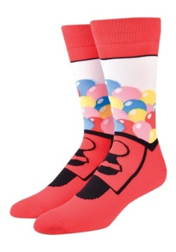 Cool Socks Gumball Machine Adult Socks