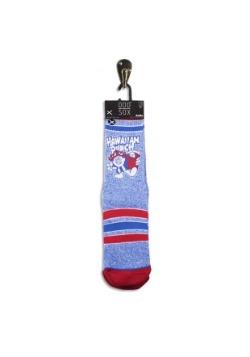 Odd Sox Hawaiian Punch Heather Knit Socks Alt2
