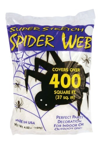 Halloween 400 sq ft Spider Web Decorations