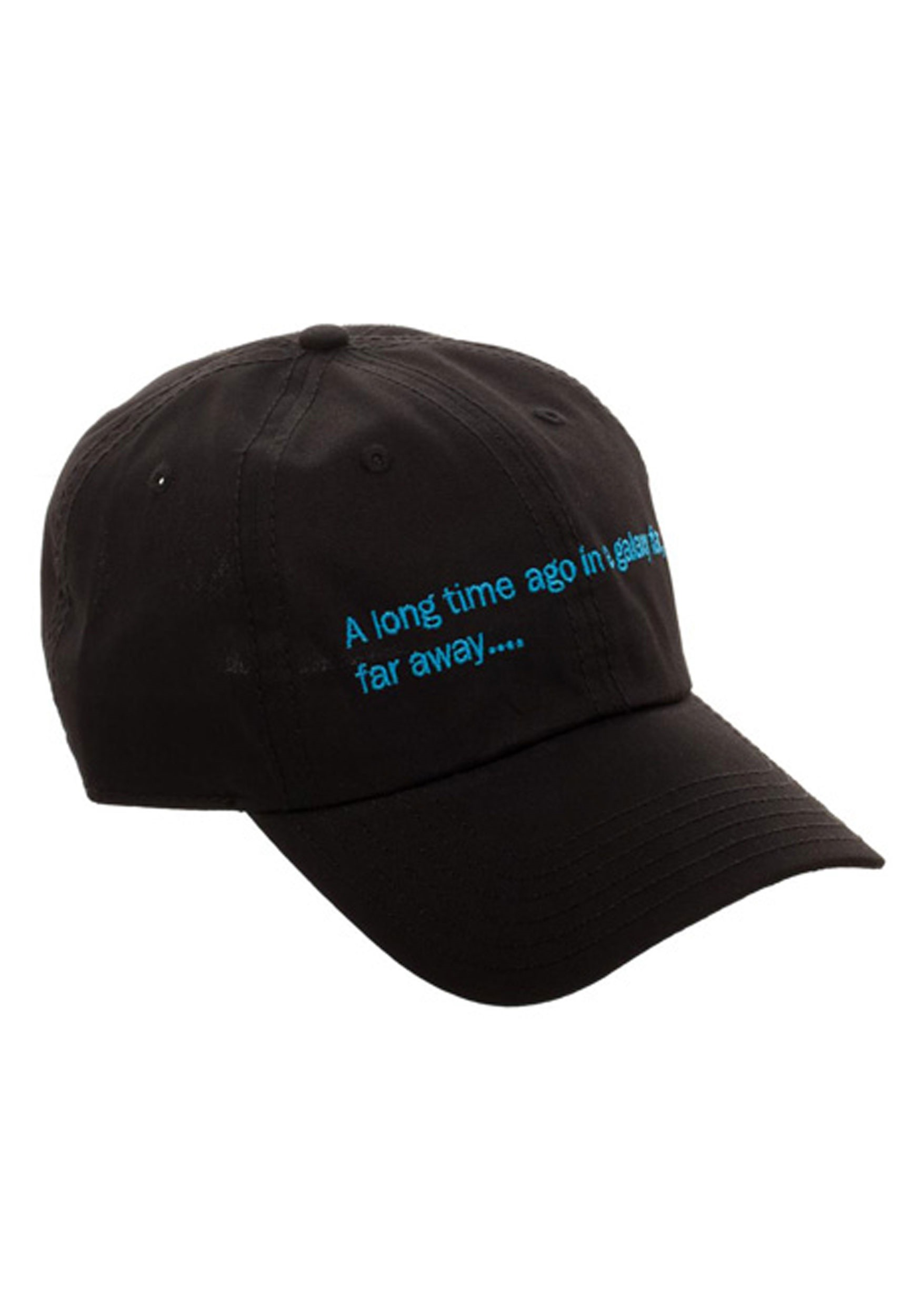153503ce36f Star Wars A Long Time Ago Crawl Black Dad Hat