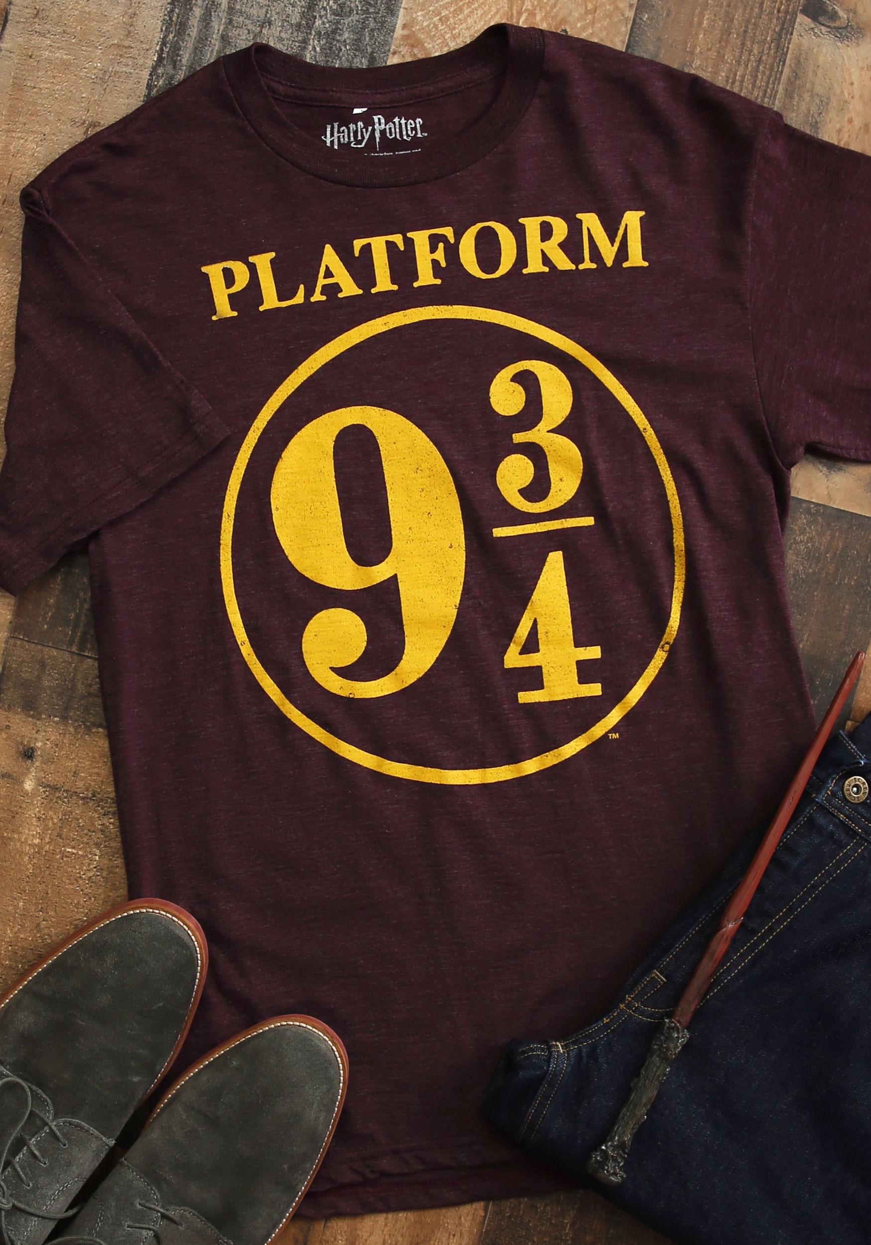 HARRY POTTER Girls Platform 9 and 3//4 T-Shirt
