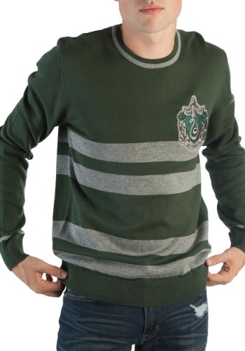 Harry Potter Slytherin Men's Jacquard Sweater