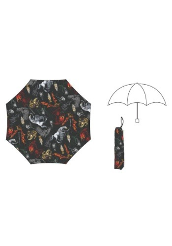 Harry Potter Creatures Umbrella