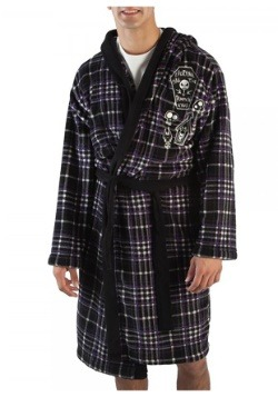 Nightmare Before Christmas Pumpkin King Hooded Bathrobe
