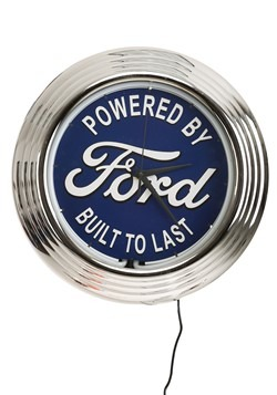 Ford Neon Clock
