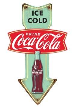 Coca-Cola Ice Cold Tin Sign