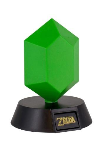 Legend of Zelda Green Rupee 3D Light