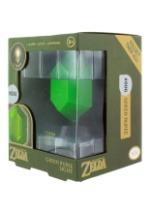 Legend of Zelda Green Rupee 3D Light2