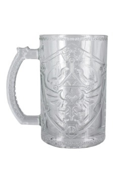 Zelda Shield Glass Stein