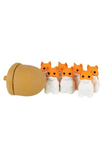 Stacking Squirrels Erasers