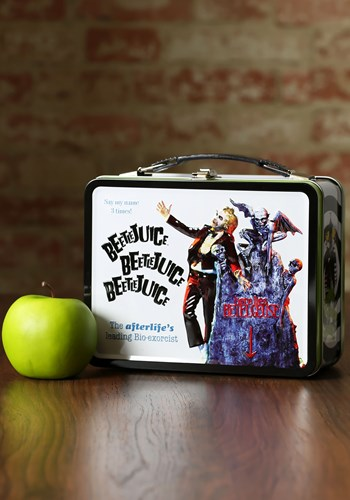 Beetlejuice Metal Lunchbox