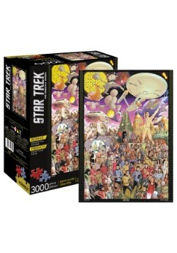 Star Trek The Original Series 3000 Piece Puzzle