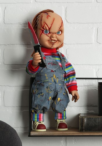"""Chucky Scarred 15"""" Talking Good Guy Doll Update1"""
