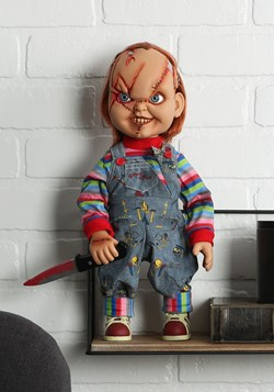 "Chucky Scarred 15"" Talking Good Guy Doll"