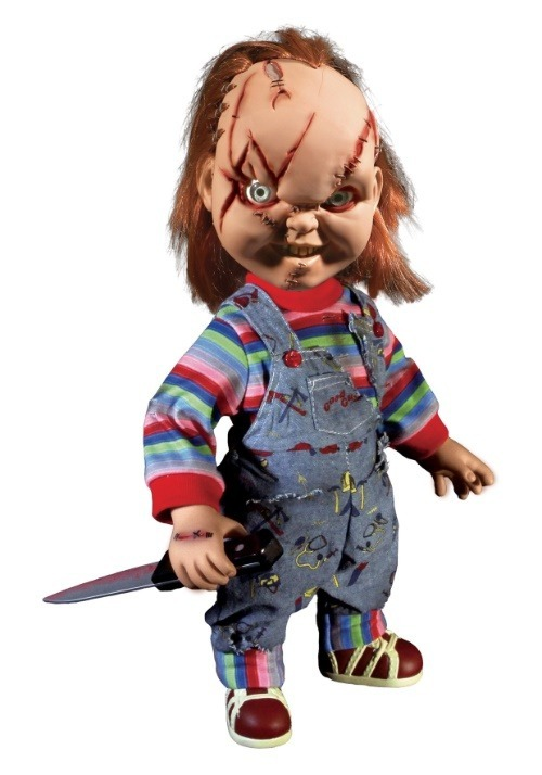 "Chucky Scarred 15"" Talking Good Guy Doll"