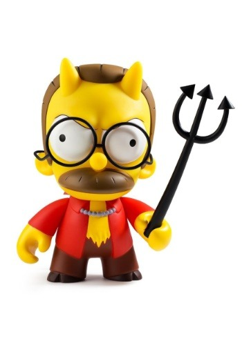 The Simpsons Devil Flanders Medium Figure