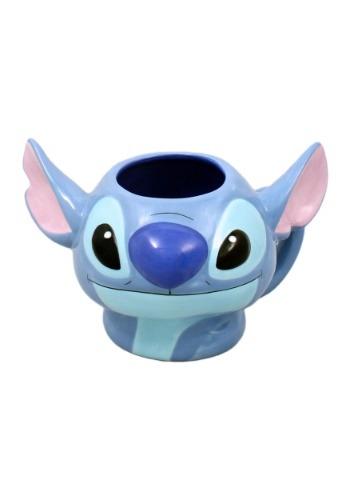 Lilo and Stitch Head Sculpted Mug