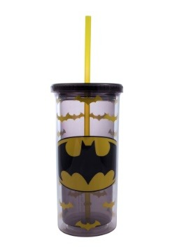 Batman Logo 20 oz Tall Travel Tumbler
