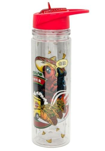 Deadpool Taco Double Walled Tritan Water Bottle