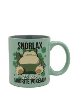 Snorlax is My Favorite Pokemon 20 oz Jumbo Ceramic Mug