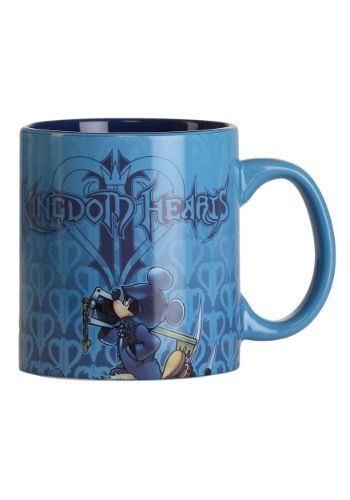 Kingdom Hearts Stacked Group 20 oz Jumbo Ceramic Mug