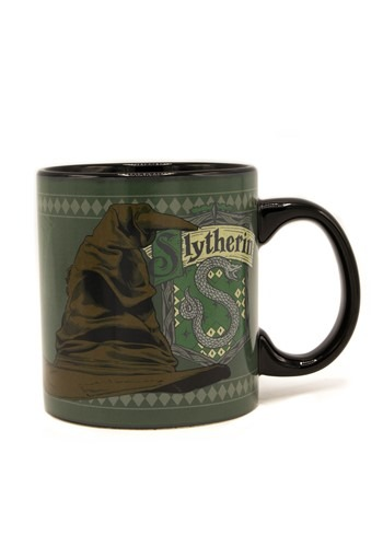 Harry Potter Slytherin Sorting Hat 20 oz Heat Reveal Mug