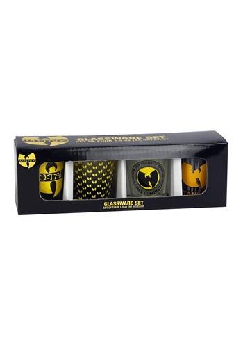 Wu-Tang Clan Logo 4 pc Mini Glass Set