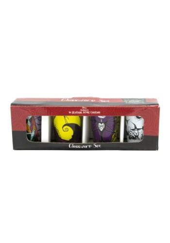 Nightmare Before Christmas 4pc Mini Glass Set