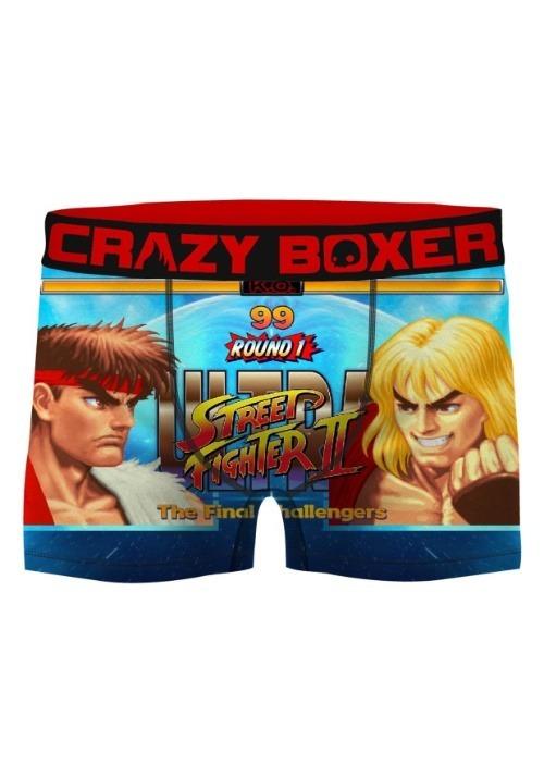 Crazy Boxers Men's Street Fighter II Boxer Briefs