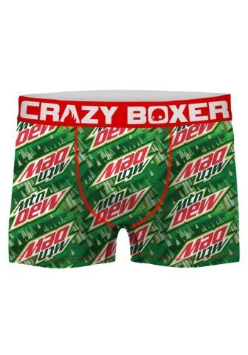 Crazy Boxers Men's Mountain Dew Green Boxer Briefs