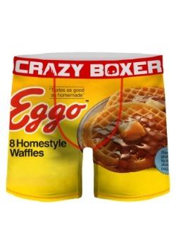 Crazy Boxers Men's Eggo Boxer Briefs
