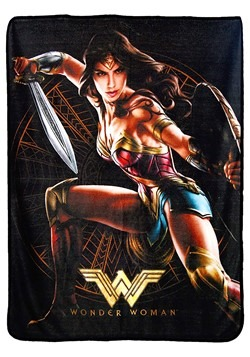 "Wonder Woman Good Soldier 46"" x 60"" Super Soft Throw"