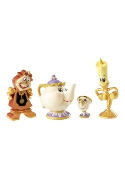 Disney Showcase Beauty and the Beast Enchanted Objects Figur