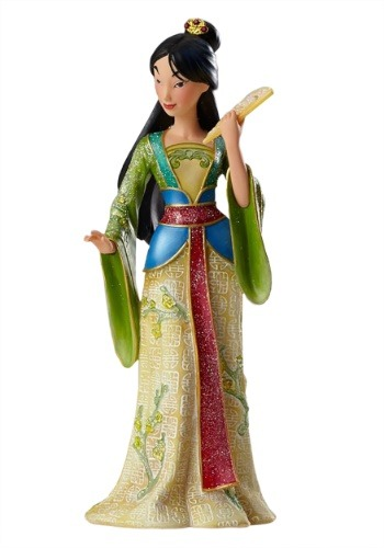 Disney Showcase Mulan Couture de Force Collectible Figure