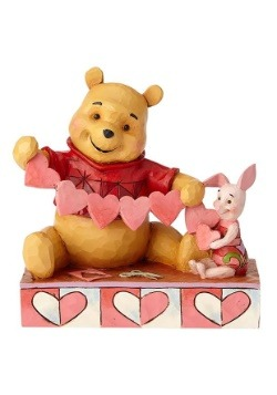 "Pooh and Piglet Heart 5.5"" Figurine"