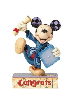 "Graduation Mickey 6"" Figure"