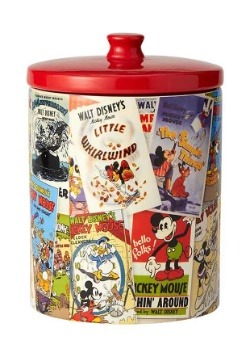 Mickey Mouse Ceramic Cookie Jar